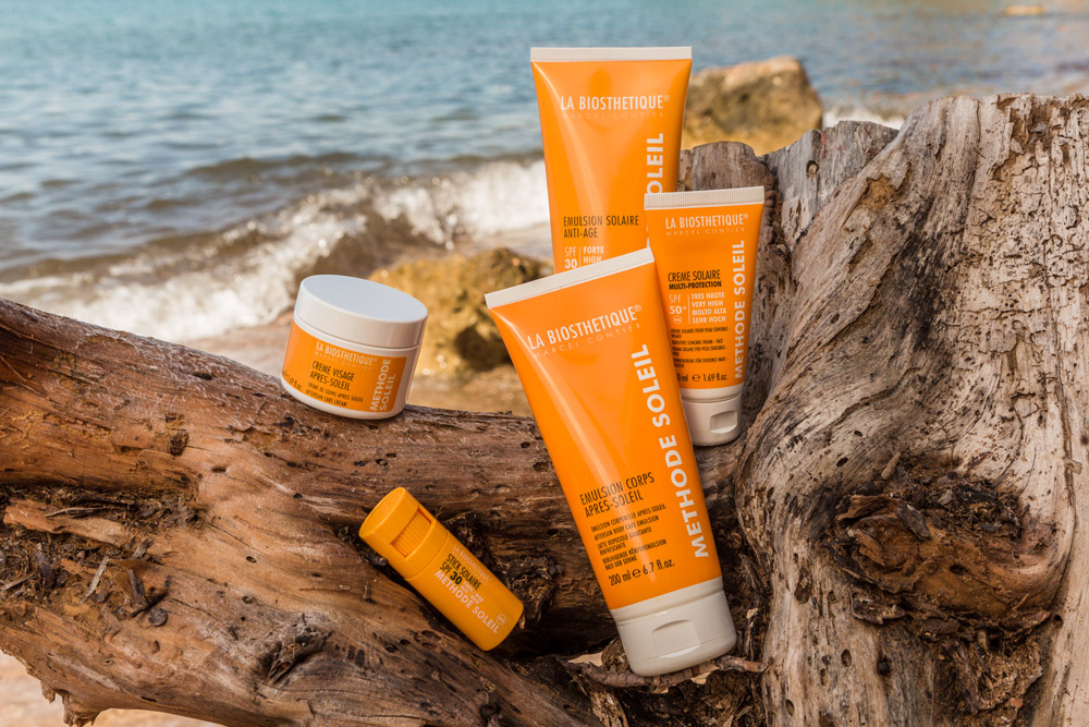 Summer skin care METHODE SOLEIL from La Biosthétique.