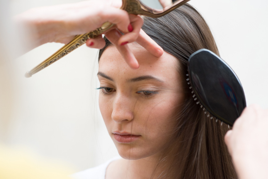 Hair Glossing