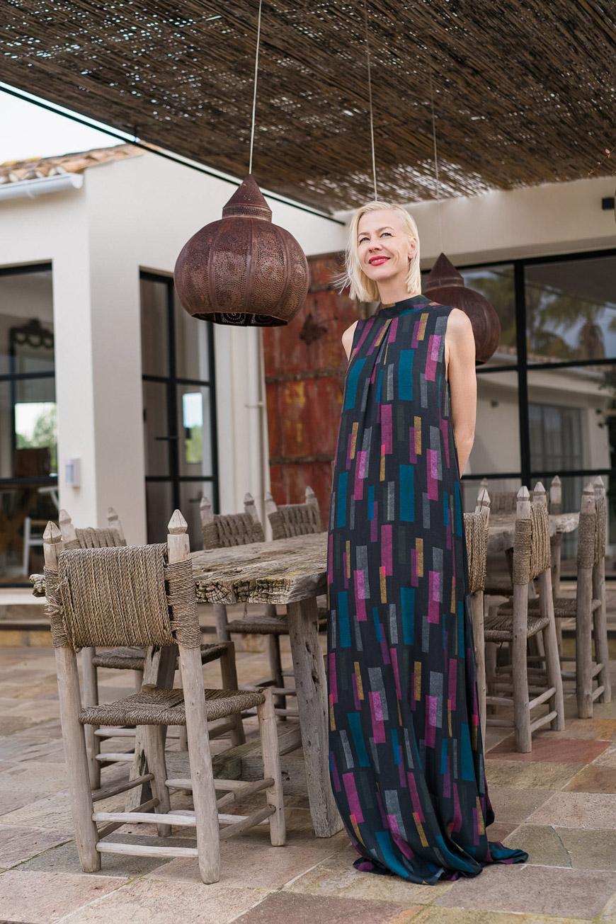 Aubergin Fashion, Silke von Rolbiezki, Mallorca