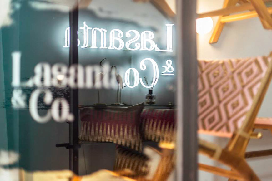 LASANTA&CO. – a space dedicated to interior design and good taste