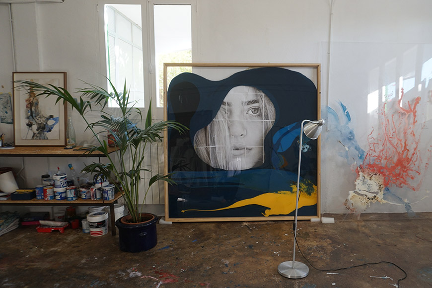 Isabelle Fournet at her studio | Silke von Rolbiezki Salon