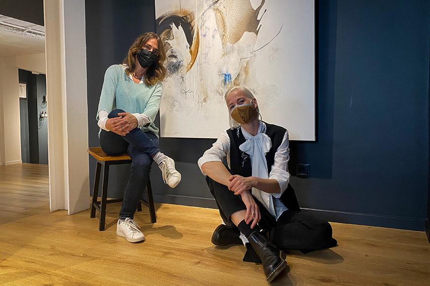 Isabelle Fournet, an artist from Mallorca | Silke von Rolbiezki Salon